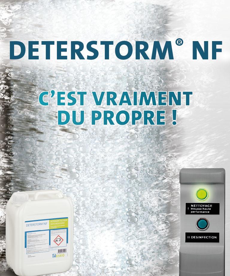 Détergent Deterstorm NF pour les élevages