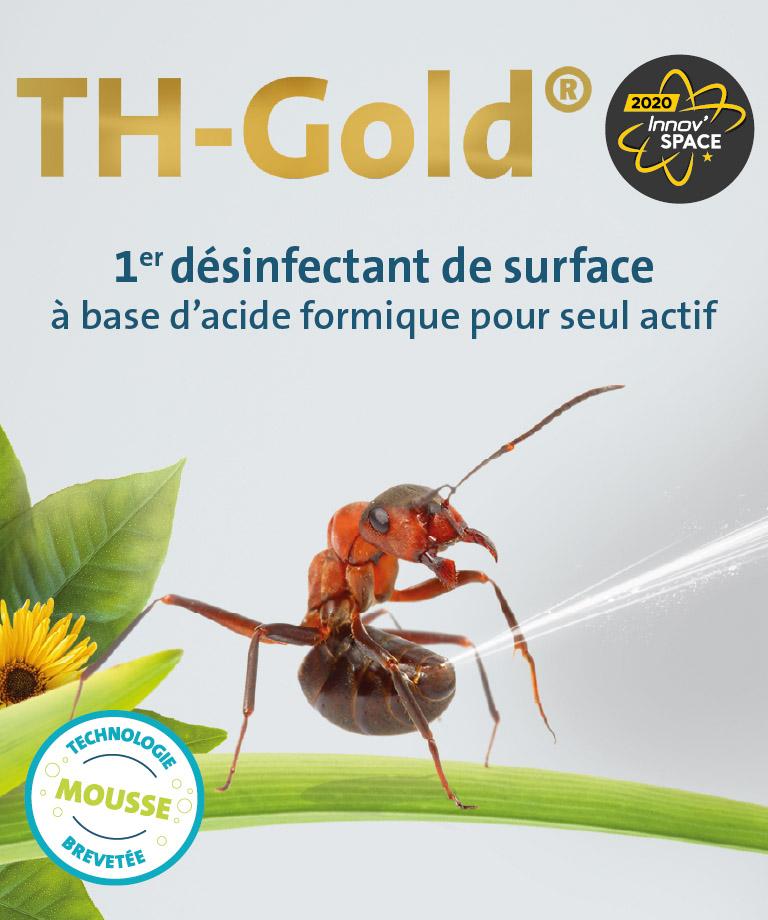Th-Gold : désinfectant à base d'acide formique