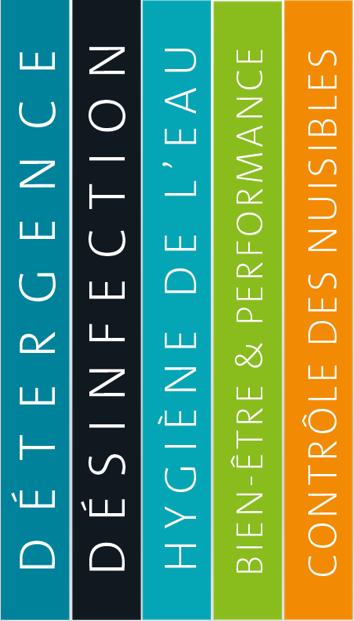 Chaque bandeau correspond à une gamme de produits THESEO